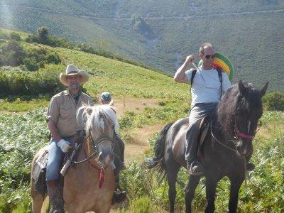 Excursión ecuestre desde Anguiano medio día