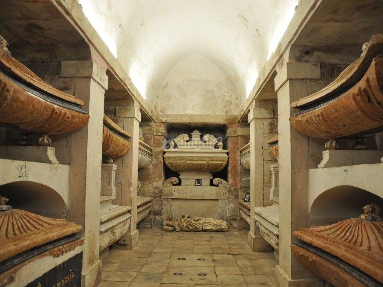 Cripta de la princesa de Eboli