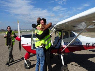 乘坐飞机,科尔多瓦的洗礼