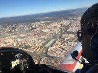 Pilotando sobre Cordoba