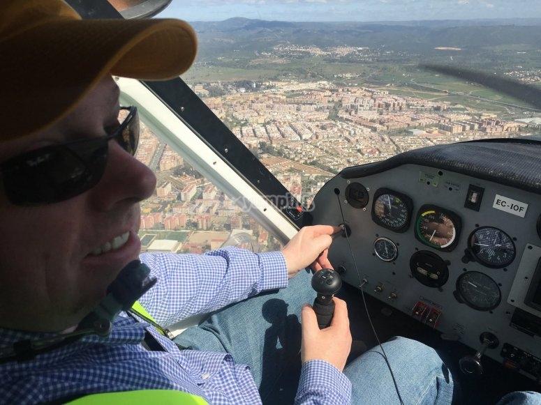 Se tu mismo el piloto