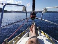 Fin de semana navegando en velero en Costa Brava