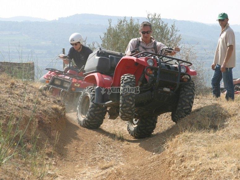 All-terrain quads