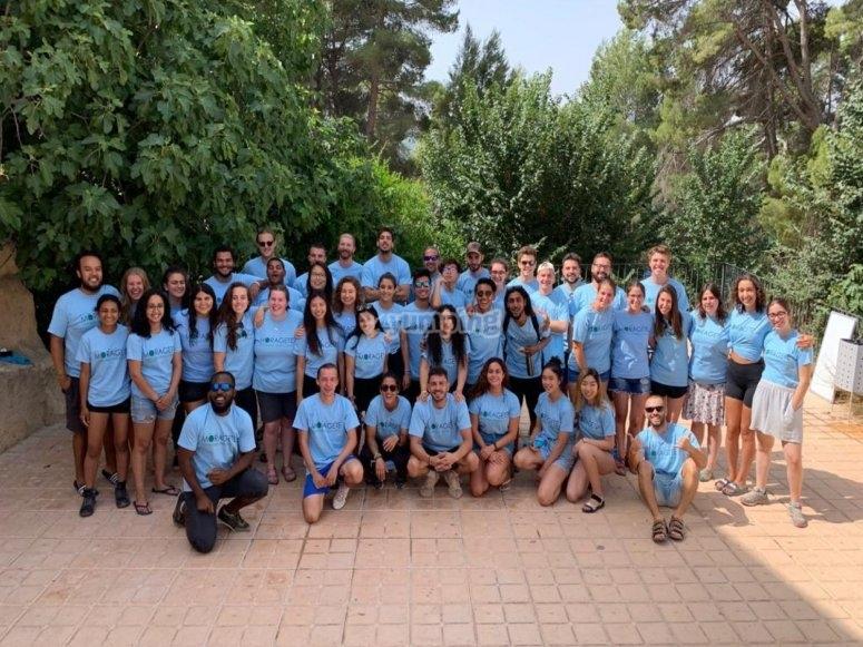 Team completo di studenti