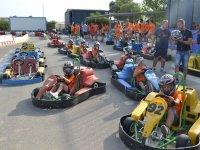 Testing the go-karts