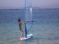 Windsurfing at the camp