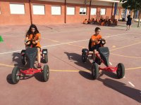 In pedal vehicles