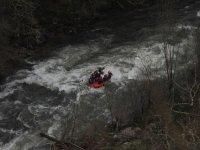 en el rio rapido