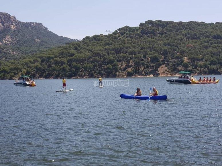 Actividades acuaticas en Madrid