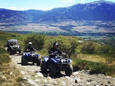 2-Hour Quad Trip Next the Cerdaña