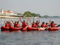 Excursion con kayaks
