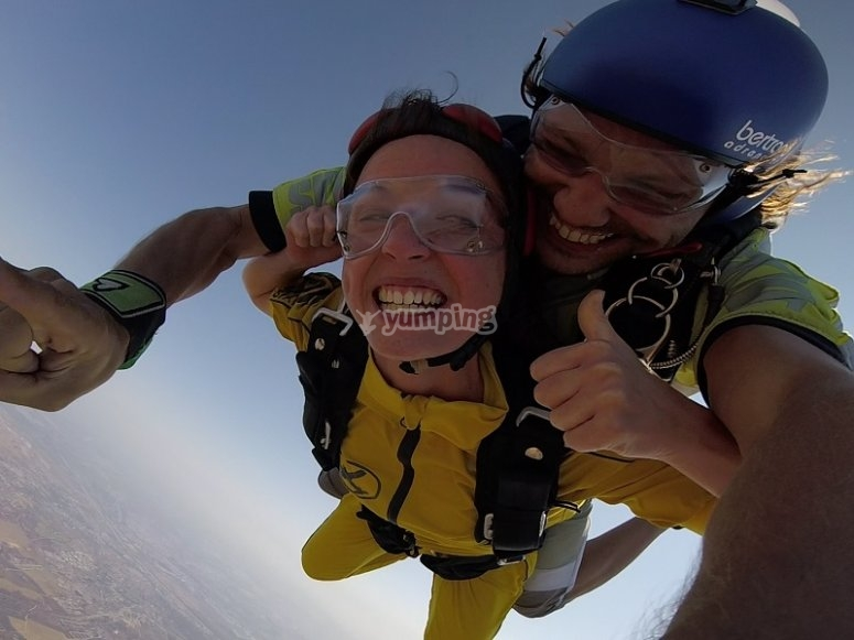No hay nada como el paracaidismo