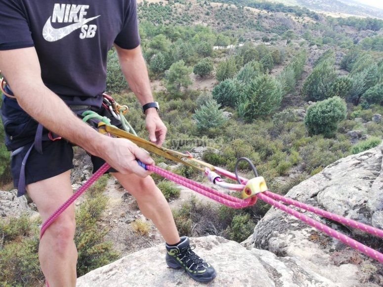 Safety is the most important part in sport climbing
