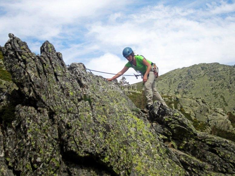 Escalada en montana