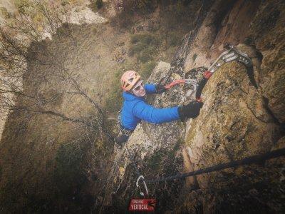 Battesimo nell'arrampicata sportiva a Soto del Real