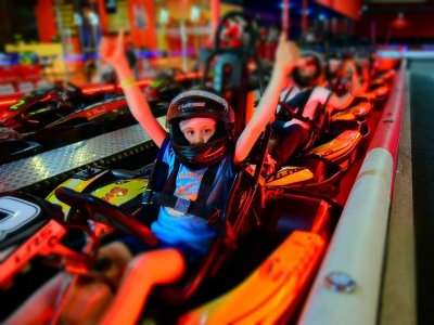 Indoor Karting for Kids in Torreblanca, Seville