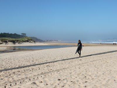 Campamento de surf en Loredo 8 días