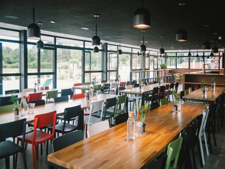 The canteen will be your favorite place