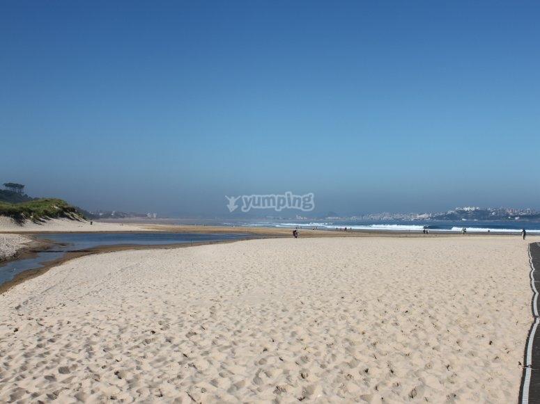 Loredo beaches to practice