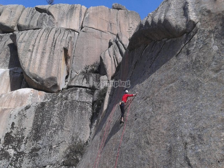 托莱多的岩壁