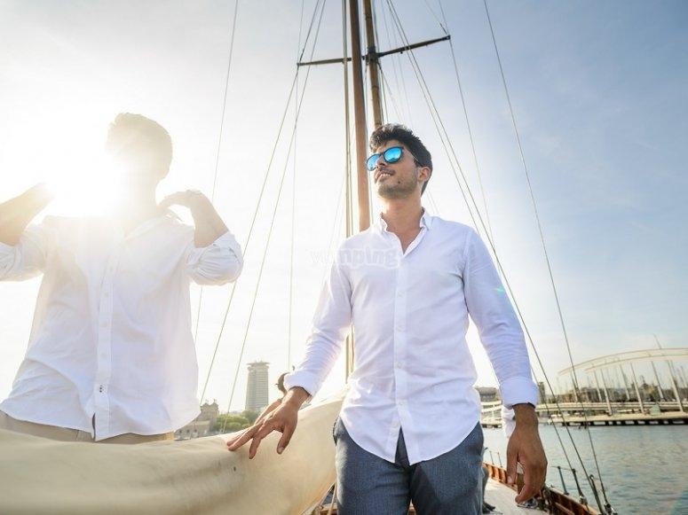 Una bonita experiencia en barco