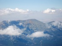 Views of Moncayo from the air