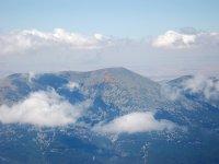 Vistas del Moncayo desde el aire