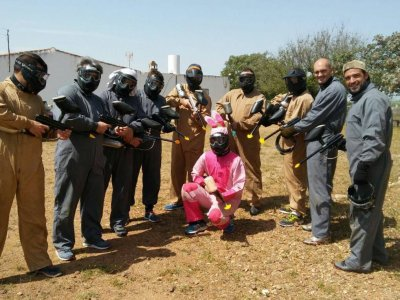 Paintball despedidas en Córdoba 300 bolas y regalo