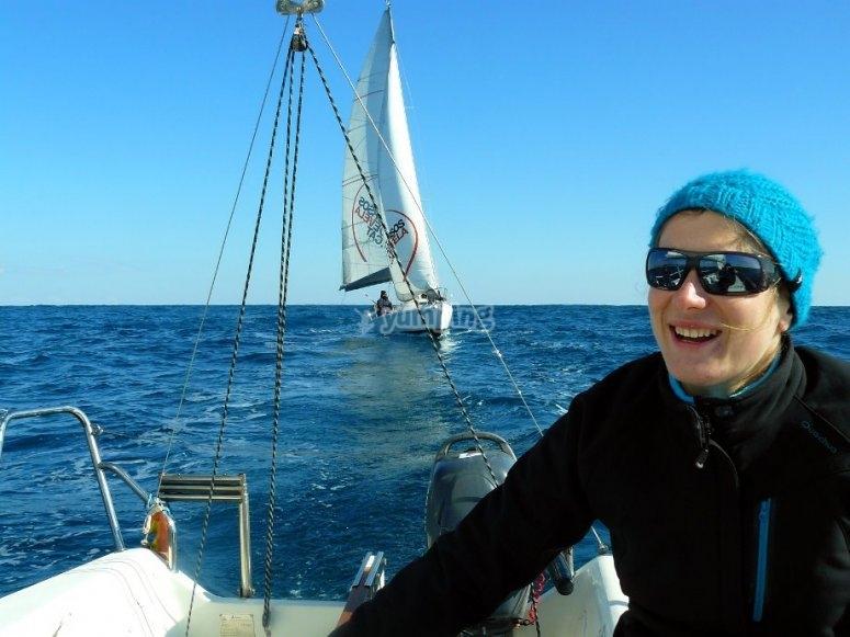 进入帆船世界