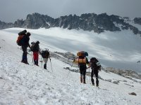 Ruta de esquí de montaña