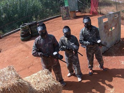 Paintball Match w. 100 Balls in Marbella