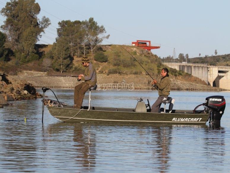 Journée de pêche à Alcantara