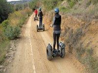 Recorriendo la comarca del Arenys en segway