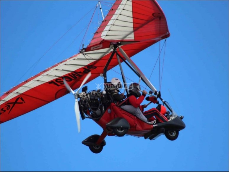 马德里电动悬挂式滑翔机