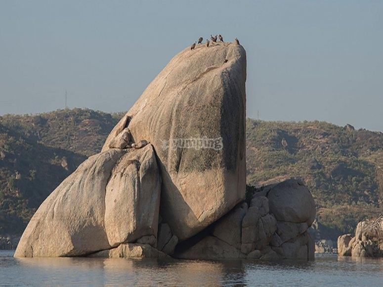 Canchos de Ramiro的岩石