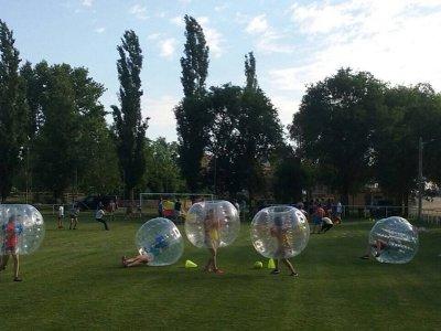 Partido de fútbol burbuja en Huerta durante 1 hora