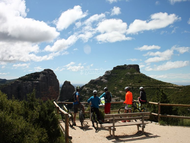 Ruta BTT en Huesca