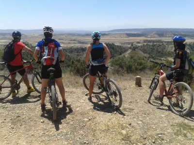 Tour in mountain bike attraverso la Sierra de Huesca