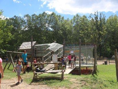 进入Vall de Bas儿童的多险旅游区