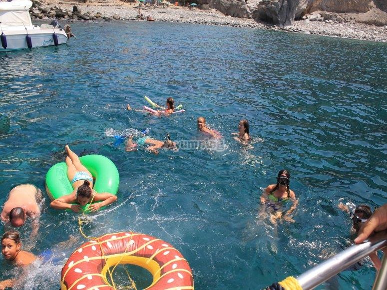 Snorkeling en Las Palmas
