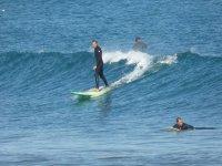 Surfistas expertos en Valencia