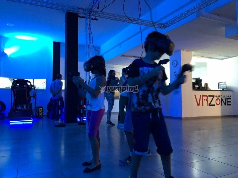 Centros adaptados para la realidad virtual