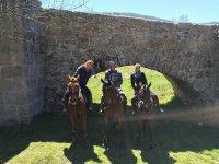 2h horseback riding tours near Madrid