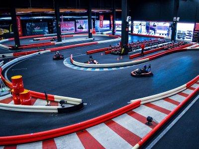 Mini Gran Premio karting indoor Jerez y medallas