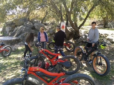 Ruta familiar en eMTB Camino de San Martín adultos