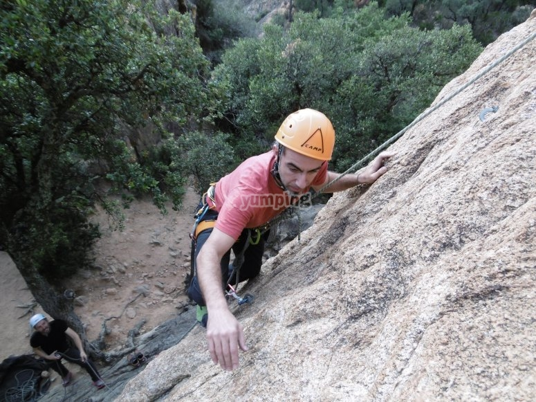 巴塞罗那的攀岩