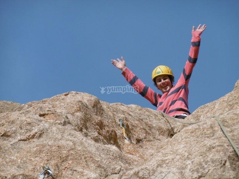 克服登山挑战