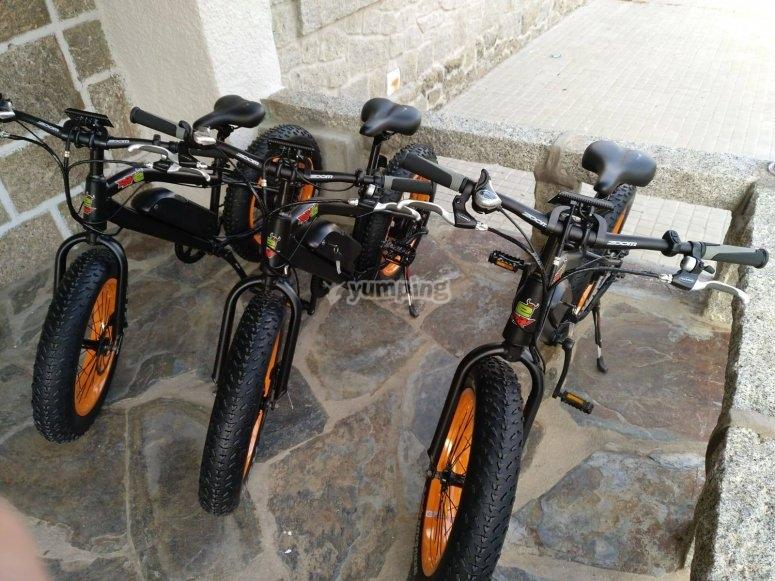 Alquiler bici electrica de nino