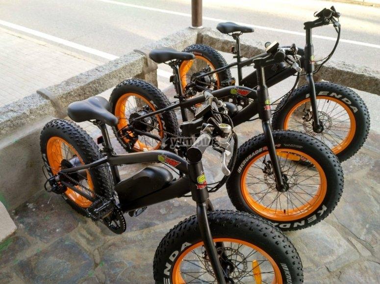 Grupo de bicis