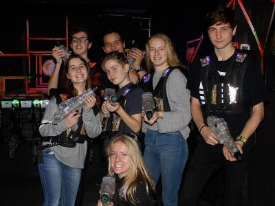 Laser Tag tournament in Sant Cugat 7 players